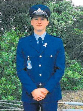 ?? Photo / Supplied ?? Constable Matthew Hunt, 28, was killed by Eli Epiha.