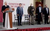 ??  ?? En el evento el presidente Andrés Manuel López dijo que la nueva infraestructura impulsará el crecimiento del país.