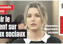 ??  ?? Charlotte Bouchard, victime