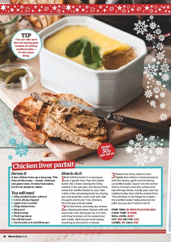 Pressreader Womans Own 2018 12 17 Chicken Liver Parfait