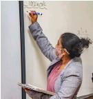 ??  ?? SA has a shortage of teachers.