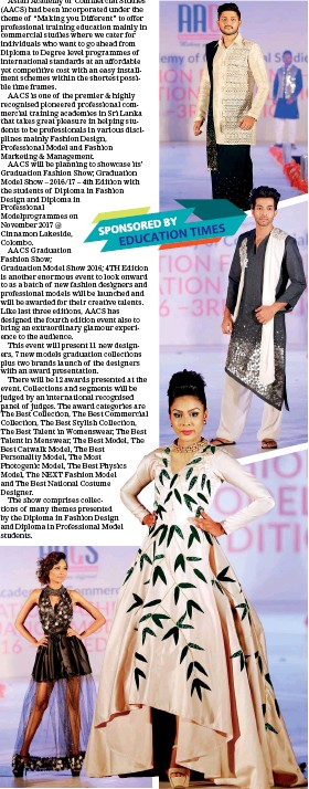 0aeedc46a3f Pressreader Sunday Times Sri Lanka 2017 10 08 Graduation Show