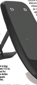 ??  ?? Performant et long de seulement 153 cm, le Fliteboard Pro ci-contre se destine aux pratiquants expérimentés.