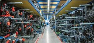 ?? Fotos: Mittermüller ?? 2016 zog STABER von Holzheim nach Münster mit nun drei Lagerhallen über 2000 Quadratmetern und Büros mit rund 200 Quadratmetern.