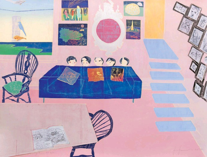 ?? ©Tom Hammick; Courtesy of Flowers Gallery ?? Living Room