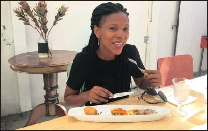 ??  ?? Abigail Mbalo-Mokoena, 40, wants to introduce fine dining at her restaurants in Khayelitsha.