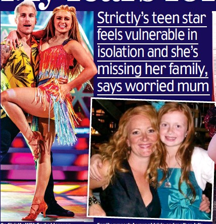 ??  ?? On Strictly: With Gorka Mar­quez
