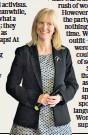 ??  ?? Threats: Rosie Duffield can't attend conference