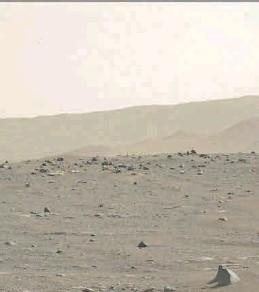 ?? NASA ?? Imagen enviada por el rover 'Perseverance' en su tercer día en Marte.
