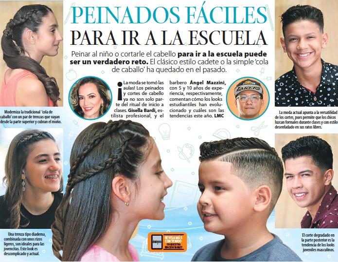 Pressreader Dominguero 2018 04 08 Peinados Faciles Para Ir A La