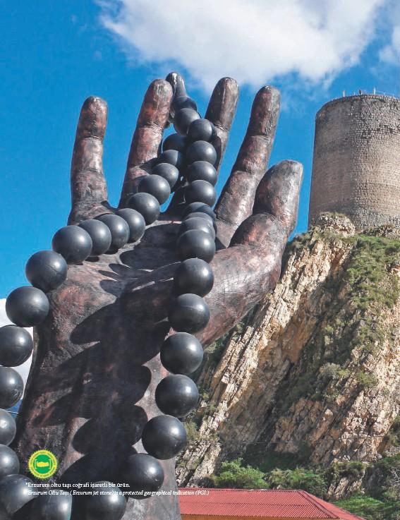 ??  ?? *Erzurum oltu taşı coğrafi işaretli bir ürün. Erzurum Oltu Taşı ( Erzurum jet stone) is a protected geographical indication (PGI.)