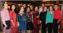 "??  ?? HAPPY TOGETHER Jun and Menchu Lopez, Marilen Tantoco, Renato and Maritess Enriquez, Eddie and Merl Pineda, Patrick Jacinto, Zenaida ""Nedy"" Tantoco, Nena and Rico Tantoco in a family gathering last year"