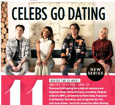 Celebs go dating new series 2017