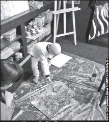 ??  ?? Часть работ Иры Химич находится в частных коллекциях — во время выставок некоторые ее картины продавались