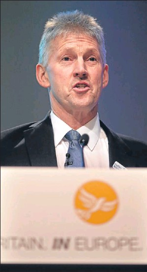 ?? Picture: Allan Milligan. ?? George Lyon at the Scottish Lib Dem conference.