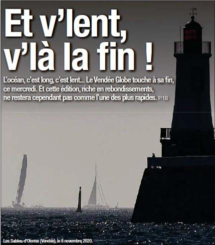 ??  ?? Les Sables-d'Olonne (Vendée), le 8 novembre 2020. A nos lecteurs. Retrouvez votre journal «20 Minutes» vendredi dans les racks. En attendant, vous pouvez suivre toute l'actualité sur l'ensemble de nos supports numériques.