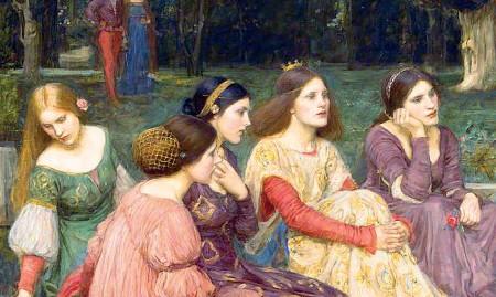 ?? Sguardi femminili ?? John William Waterhouse: «A Tale from the Decameron » (1916)