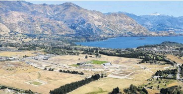 ?? PHOTO: STEPHEN JAQUIERY ?? Shakeup ahead . . . Current subdivisions, such as Three Parks in Wanaka, are subject to the Resource Management Act. Environment Minster David Parker says a planned regulatory shakeup will help improve how central and local government plan for housing and urban development.