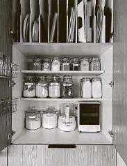 ?? Jessica Cain / Houzz ?? Improved storage, organization and functionality rank high in the 2021 Kitchen Trends study.