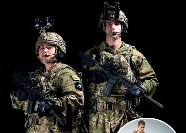 ??  ?? The Defence Force's new multi-terrain pattern uniform, above, will replace the multi-terrain camouflage uniform, inset, after only six years in use.