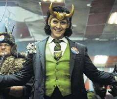 ??  ?? Loki es interpretado por Tom Hiddleston.