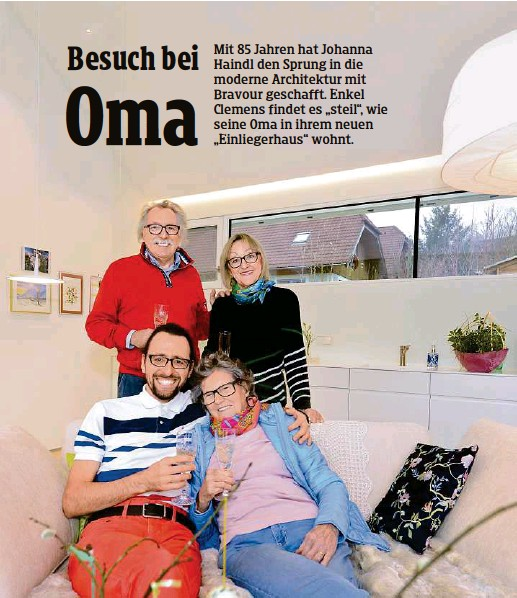 kind wohnt bei oma