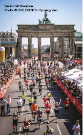 ??  ?? Berlin Half Marathon. Photo: © SCC EVENTS / Sportografen