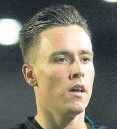 ?? Picture: SNS. ?? Buoyed by Scotland debut: Barrie McKay.