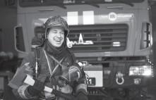 ??  ?? Капітан служби цивільного захисту Ігор Гетало має 10 років вислуги.