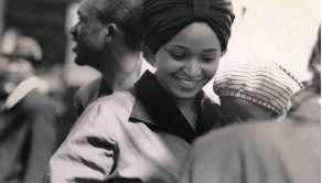 ??  ?? POWERFUL: A still from Pascale Lamche's Madikizela-Mandela). (about Winnie