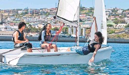 ??  ?? Adventure and sailing holidays not a fit with group's main business