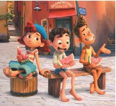 ??  ?? Giulia, Luca et Alberto. - Gracieuseté