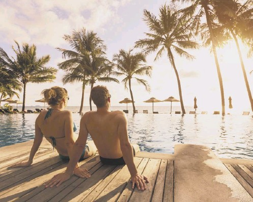 ??  ?? 0 Over half of the breaks booked by Scottish customers in April were for beach holidays as people seek something to look forward to
