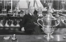 ??  ?? C Sherman Hoyt won the America's Cup – and many others