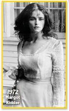 ??  ?? 1972 Margot Kidder