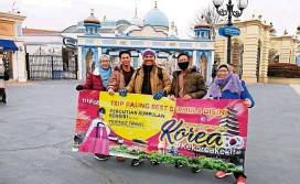 ??  ?? South Korea is Tripfez's bestselling tour for group departures.