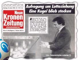 """??  ?? Falsche Joker- Kugel und """" Krone""""- Titelseite 1992"""