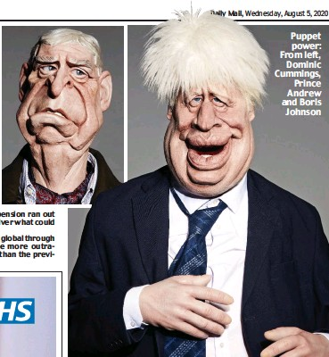 Pressreader Daily Mail 2020 08 05 Spitting Image Takes Aim At Boris And Co
