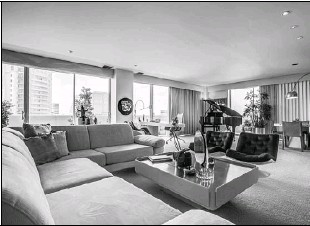 ??  ?? Judith Lifson of Dave Perry-Miller Real Estate is offering the two-bedroom home at 3601 Turtle Creek, unit 802 for $1,550,000 and will hold it open from 2 to 4 p.m. today.