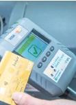 ?? – PHOTO D'ARCHIVES ?? Un terminal de paiement par carte de crédit installé dans les bus de la STL.
