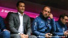 ??  ?? Salihamidzic often sits on the bench with Flick - a peculiarity of German sporting directors.