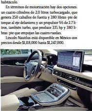 ??  ?? Pantalla Touch de 13.2 pulgadas con conexión inalámbrica Apple CarPlay y Android Auto.
