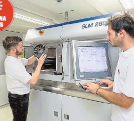 ??  ?? 3-D-Drucker in Graz können Beatmungsgeräte produzieren