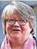 ??  ?? Work and Pensions Secretary Therese Coffey