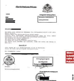 Amtsgericht Warnt Vor Bosem Abzockbrief Pressreader