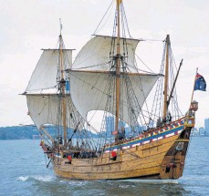 ??  ?? The Duyfken replica has found a new home in Sydney after funding from the WA Government dried up.