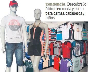 ac4ee98bde Variedad en ropa para damas y caballeros con las tendencias que rigen cada  temporada encontrará en Tienda La Roca.