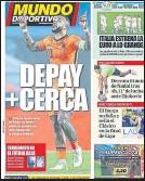 ??  ?? MD ya explicó el pasado sábado que el fichaje de Memphis Depay por el Barça estaba en la recta final
