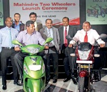 ??  ?? Chaminda Perera – CEO Ideal 2wheelers and Ideal Motors, Nalin Welgama- Chairmen Ideal Group, Aravinda de Silva – Deputy Chairmen Ideal Group, Malaka Vehalla – General Manager Ideal 2Wheelers, Sandeep Singh – Senior General Manager & Head of...