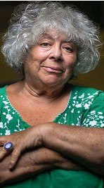 ??  ?? Supporter...actress Miriam Margolyes